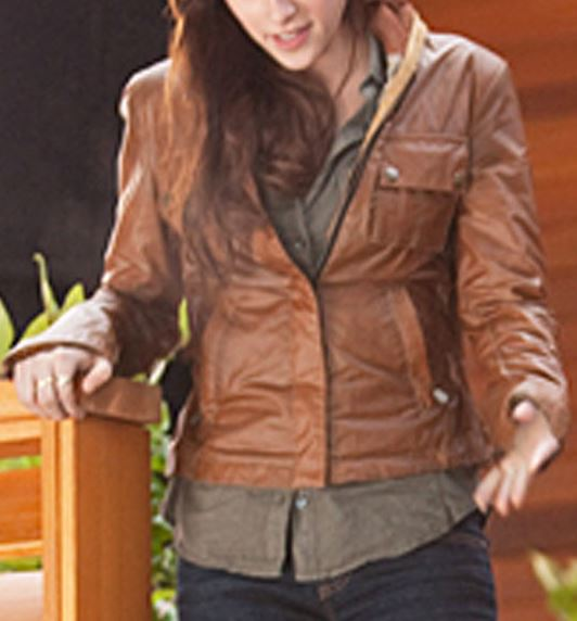 Slimfit Twlight Bella Leather Jacket
