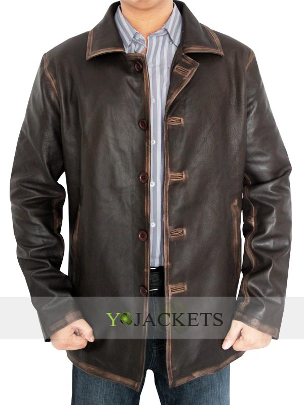 Dean Winchester Distressed Jacket