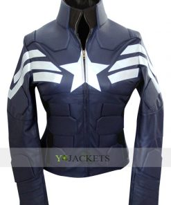 Steve Rogers Captain America Jacket for Female