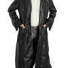 Trench Leather Enigma Coat