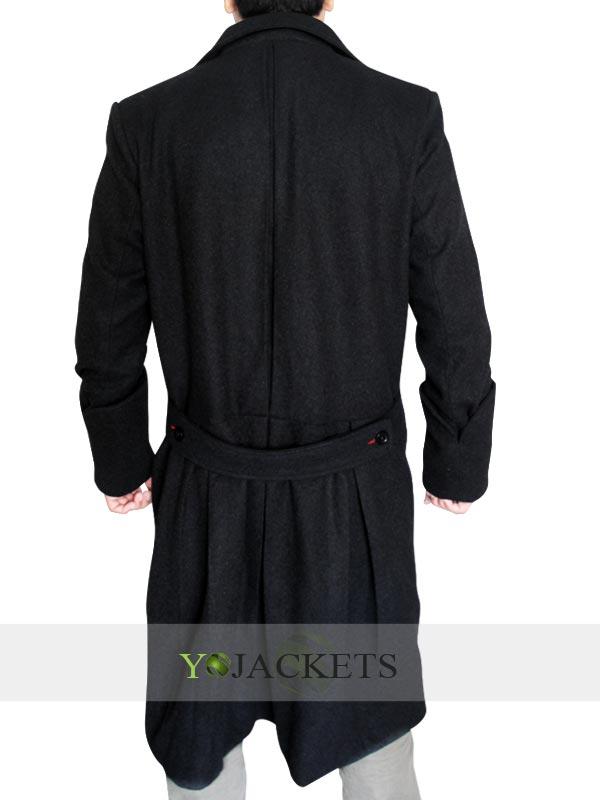 Sherlock Holmes Coat-back