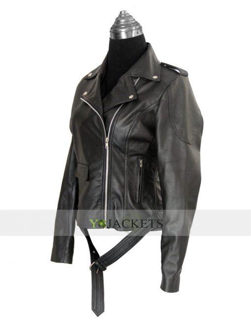 Emilia Clarke jacket