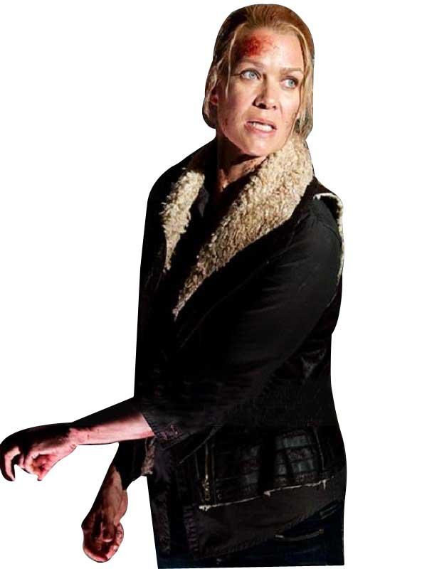 Laurie Holden The Walking Dead Andrea Jacket Fur