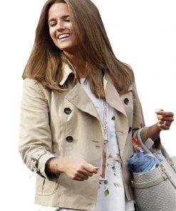 Kim-Sears-Cotton-Brown-Women-Jacket