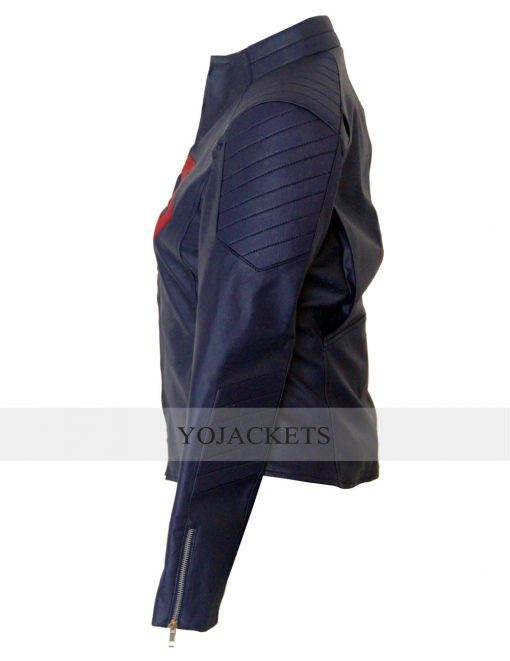 Super girl Melissa Benoist jacket