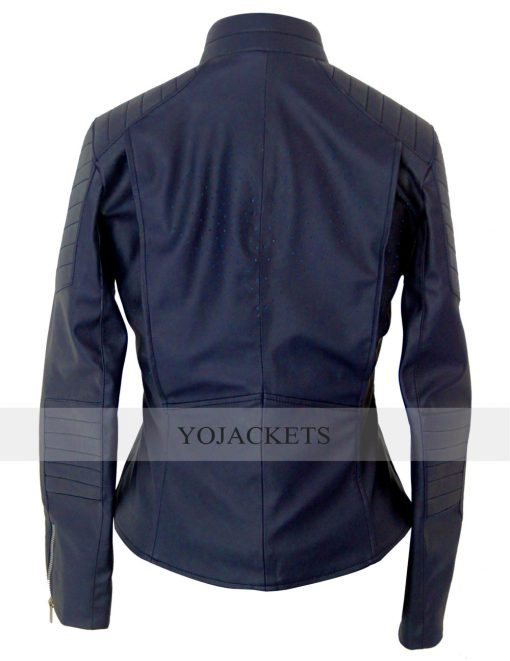 Supergirl leather Jacket