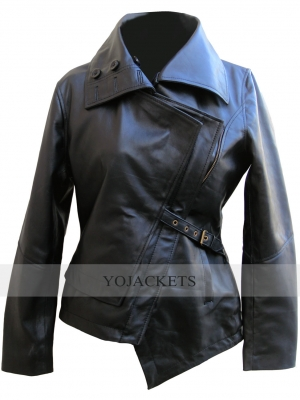 The Hunger Games Catching Fire Leather Jacket
