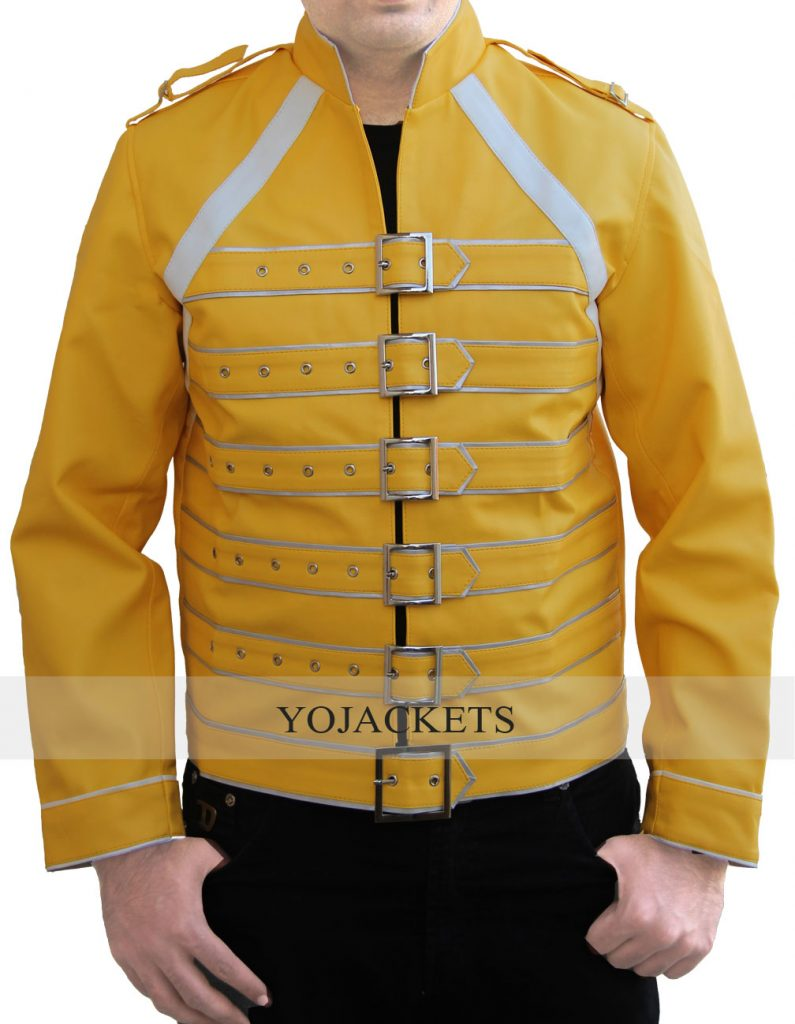 Yellow Freddie Mercury Jacket