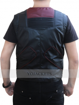 Stefan Kapicic Leather Vest