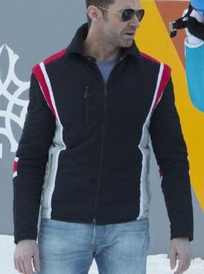 Bronson Peary Eddie the Eagle Jacket Hugh Jackman