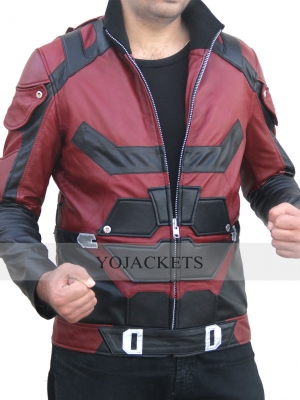 dare devil Leather Jacket