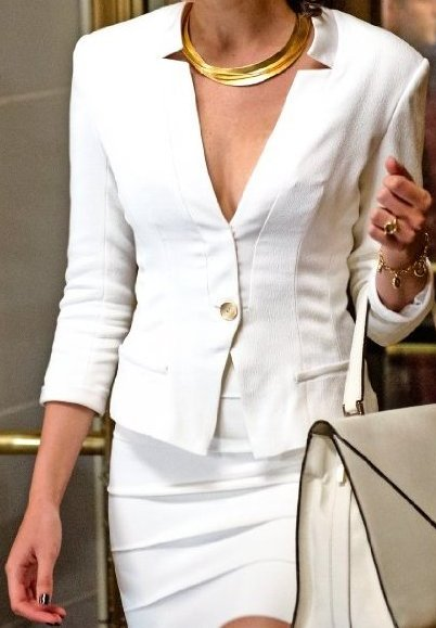 Batman Vs Superman Wonder Woman White Blazer