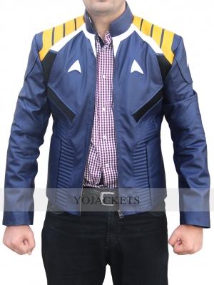 Chris Pine Star Trek Beyond Jacket Blue Costume