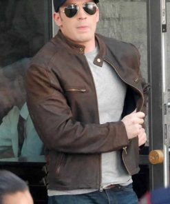 Steve Rogers Brown Jacket