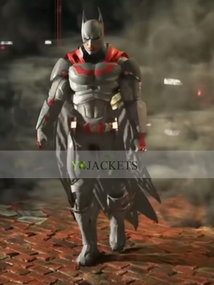 injustice 2 batman leather jacket