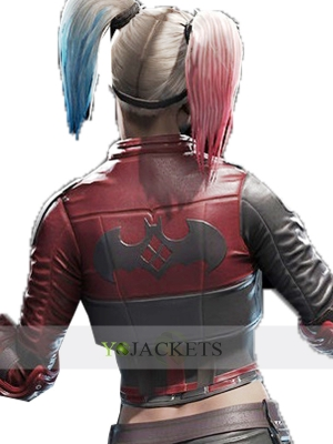 HQ Leather Jacket Injustice 2