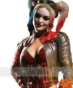 Harley Quinn Leather Jacket Injustice 2