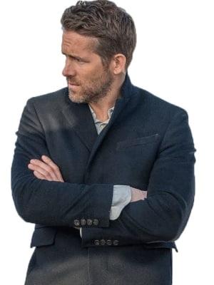 ryan reynolds hitman coat