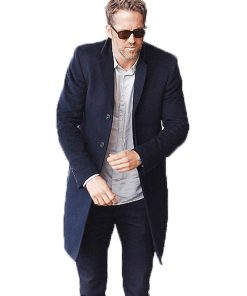 ryan reynolds black coat
