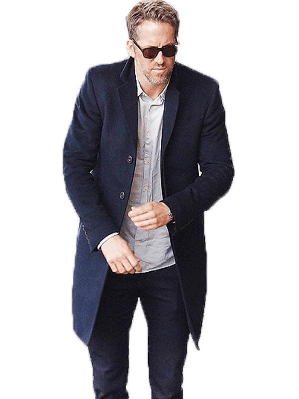 ryan reynolds black coat