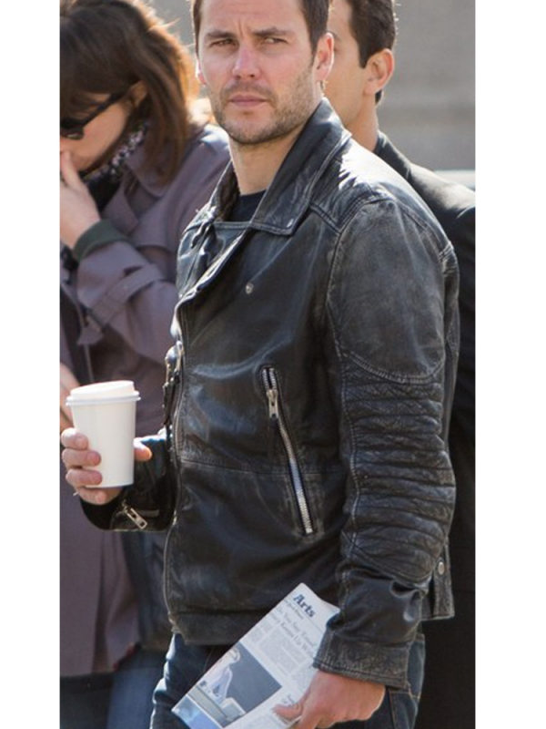 Taylor Kitsch The Ghost Leather Jacket