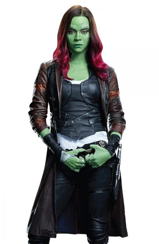 Gamora Coat from Guardians of the Galaxy 2.