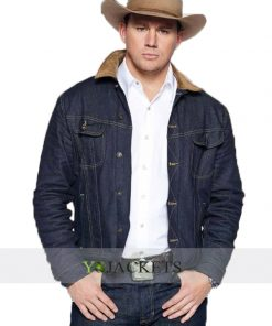 Tequila denim jacket kingsman the golden circle