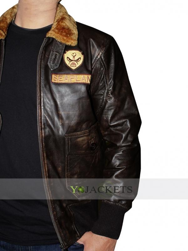 Jumanji 2 Leather Jacket