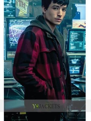 barry allen justice league jacket