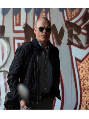 American Assassin Michael Keaton Black Jacket