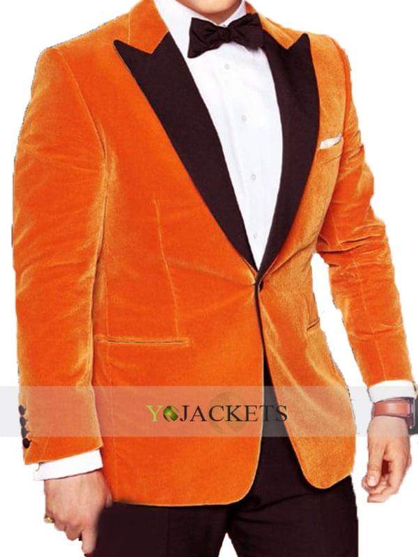 The stylish Taron Egerton Tuxedo Coat