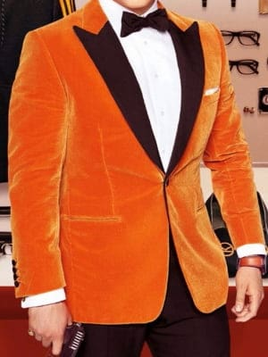 Taron Egerton Kingsman Tuxedo Jacket