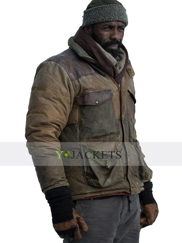 Idris Elba Brown Jacket
