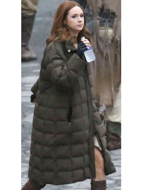 Ruby Roundhouse Coat