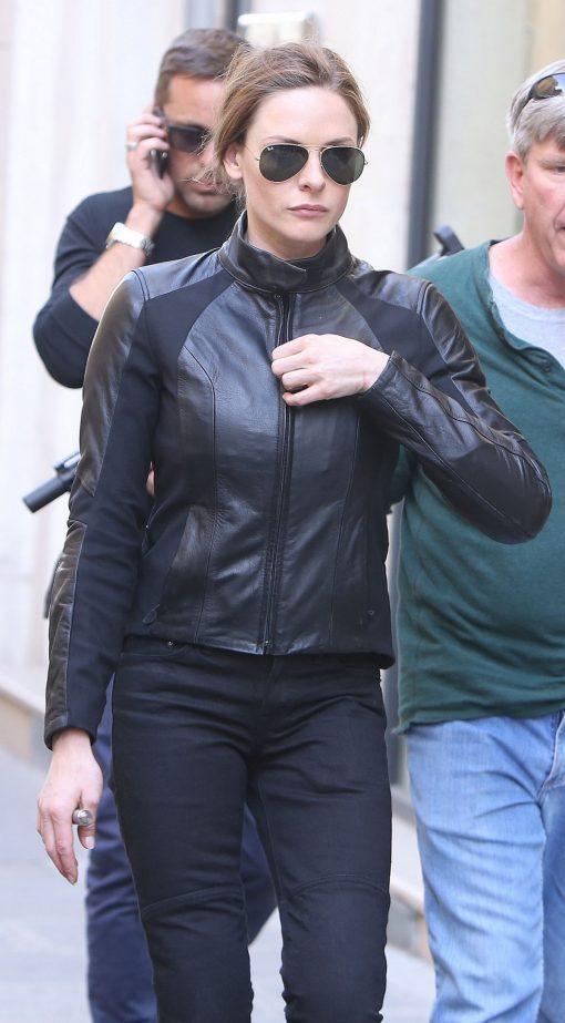 Rebecca Ferguson Black Jacket