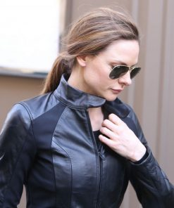Rebecca Ferguson Jacket from Mission Impossible 6 Biker Jacket