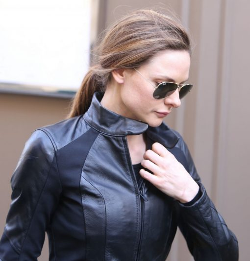 Rebecca Ferguson Jacket from Mission Impossible 6 Biker Jacket