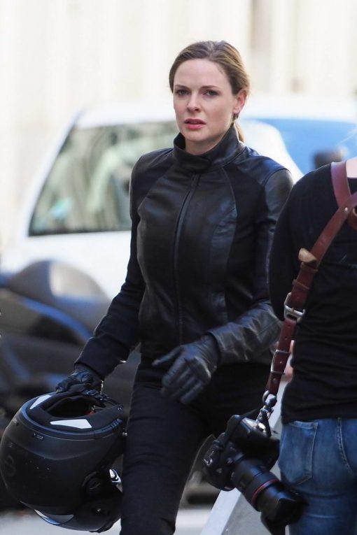 Mission Impossible 6 Rebecca Ferguson Black Jacket