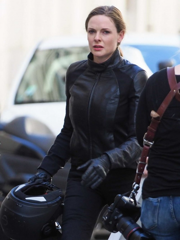 Mission Impossible 6 Rebecca Ferguson Black Jacket