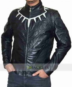 Chadwick Boseman Costume Black Panther Civil War Jacket