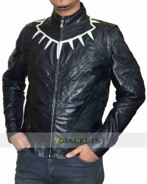 Chadwick Boseman Costume Black Panther Civil War Jacket