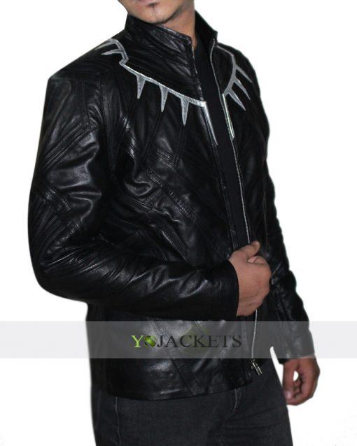 Captain America Civil War Black Panther Jacket