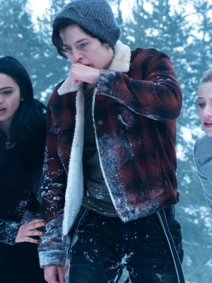 Riverdale Cole Sprouse Red Plaid Jacket