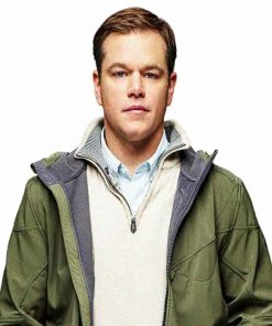 Downsizing Matt Damon Jacket Hoodie