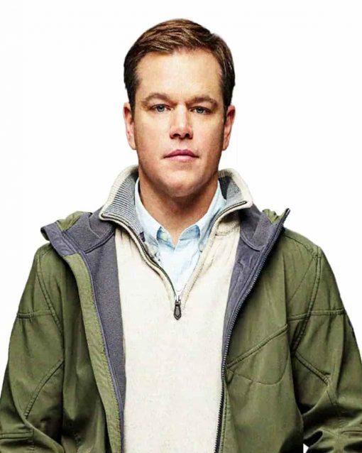Downsizing Matt Damon Jacket Hoodie