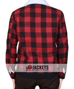 Jughead Jones Red Plaid Cotton Jacket