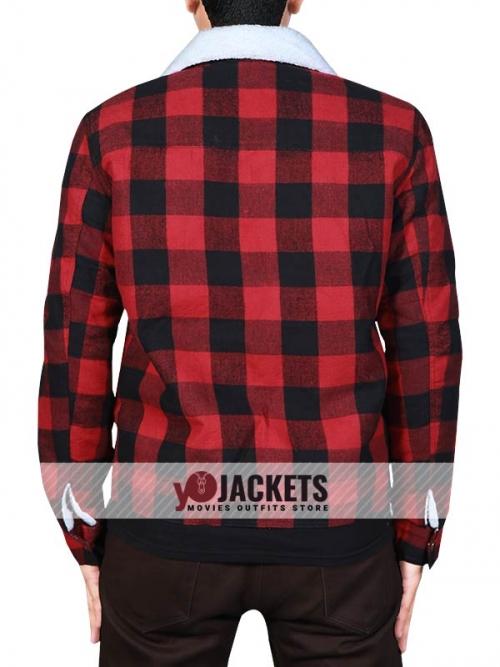 Jughead Jones Red Plaid Cotton Jacket
