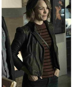 Game Night Movie Rachel McAdams Leather Jacket