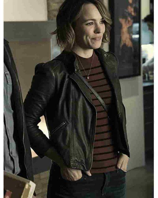 Game Night Movie Rachel McAdams Leather Jacket