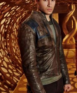 Krypton Leather Jacket